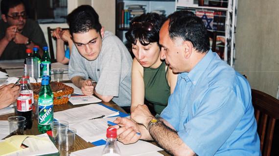 Armenia and Georgia voter education